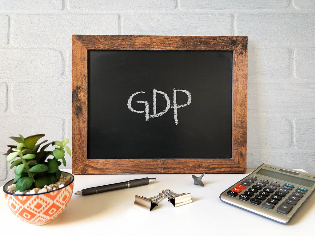 """GDP"" by Got Credit is licensed under CC BY 2.0"