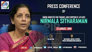 Nirmala Sitharaman Press Conference. Photo PIB India